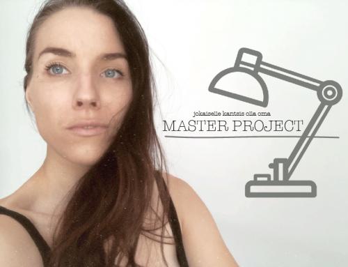 mikä olisi sun master project?
